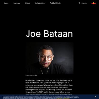 Joe Bataan