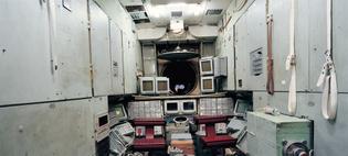 "Armin Linke, ""Star City, Mir Simulator. Moscow, Russia, 1999"""