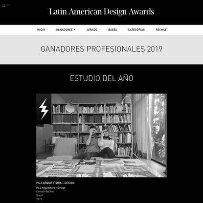 Ganadores Profesionales 2019