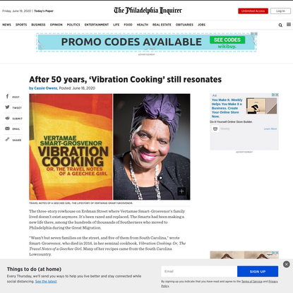 After 50 years, 'Vibration Cooking' still resonates
