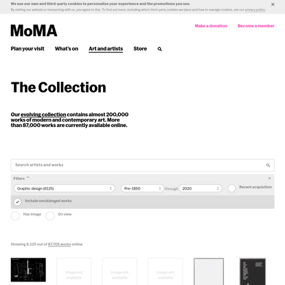 The Collection | MoMA