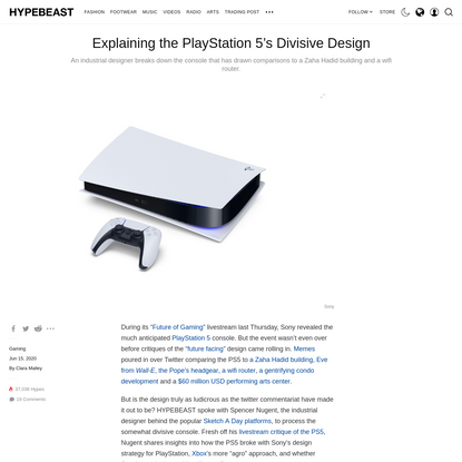 Explaining the PlayStation 5's Divisive Design