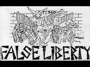 False Liberty - The Zoo Is Free (Tape 1986)