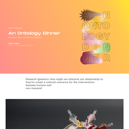 Gizem Oktay - An Ontology Dinner