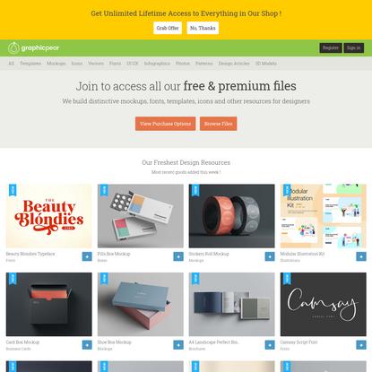 Premium & Free Assets for Designers
