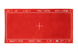 A24 BEACH TOWEL By Actual Source