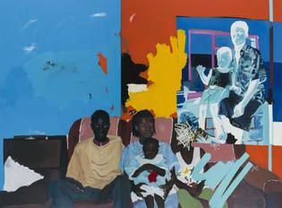 Kudzanai-Violet Hwami, Family Portrait, 2017