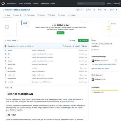 tholman/tutorial-markdown