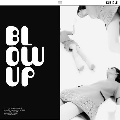 Blow Up - CUBICLE
