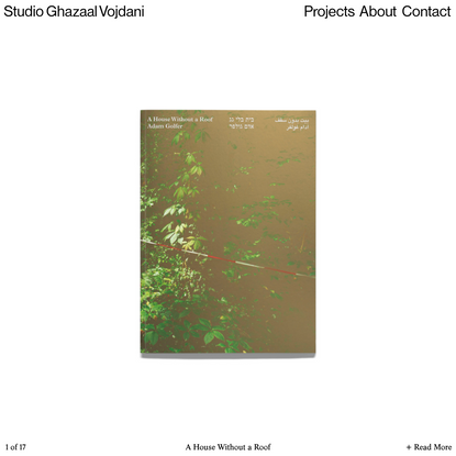 Studio Ghazaal Vojdani