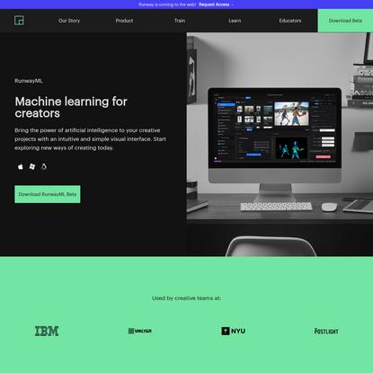 Machine Learning for creators