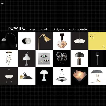rewire gallery - lighting that elevates the senses