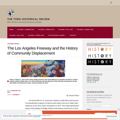 The Los Angeles Freeway and the History of Community Displacement