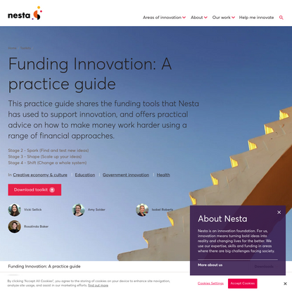Funding Innovation: A practice guide