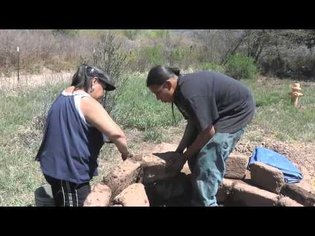 Jack Romero's Senior Project: an Adobe Oven for the Red Willow Farmers' Market
