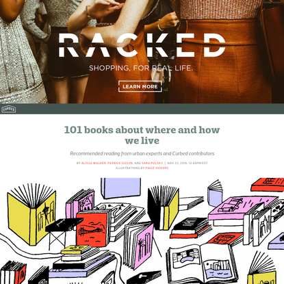 101 books about where-and how-we live