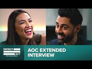 Hasan and AOC Discuss The Green New Deal   Patriot Act Digital Exclusive   Netflix