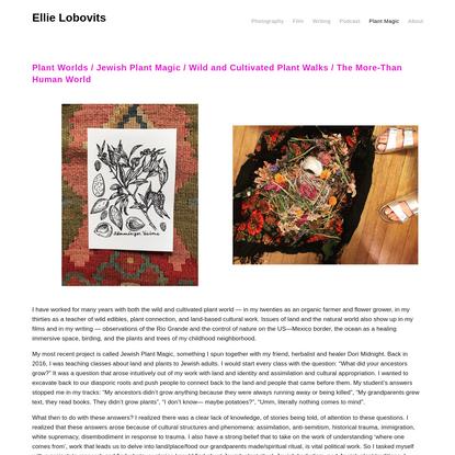 Plant Magic - Ellie Lobovits