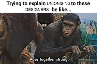Unionising Designer