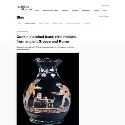 Cook a classical feast: nine recipes from ancient Greece and Rome