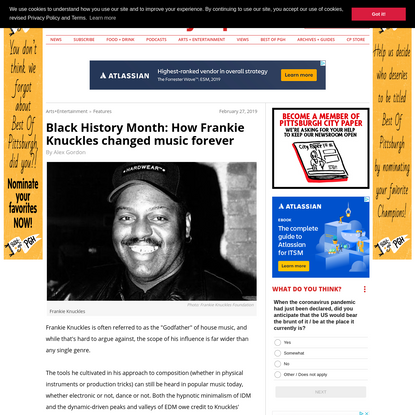 Black History Month: How Frankie Knuckles changed music forever
