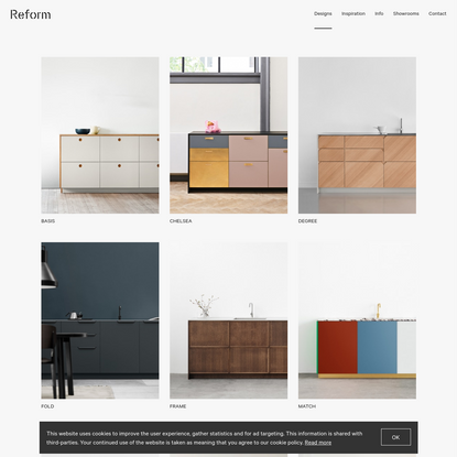 Reform - Great kitchen design