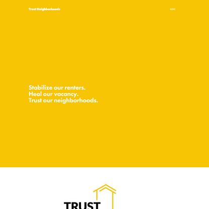 Trust Neighborhoods