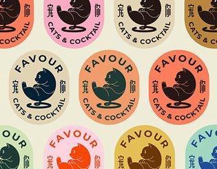 Favour Cats&Cocktail--Branding