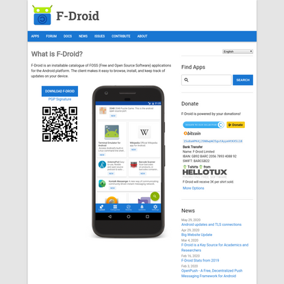 F-Droid - Free and Open Source Android App Repository
