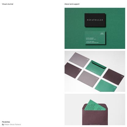 Pávatollas - Visual Journal