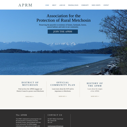 Association for the Protection of Rural Metchosin