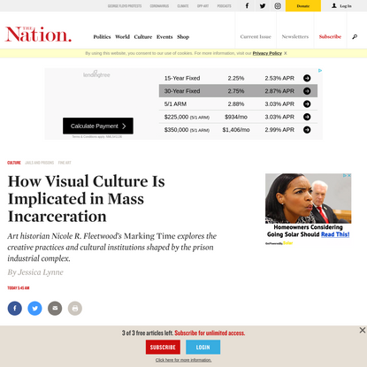How Visual Culture Is Implicated in Mass Incarceration