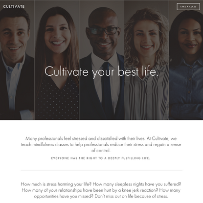 Cultivate - Mindfulness Instruction