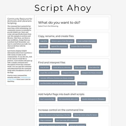 Script Ahoy