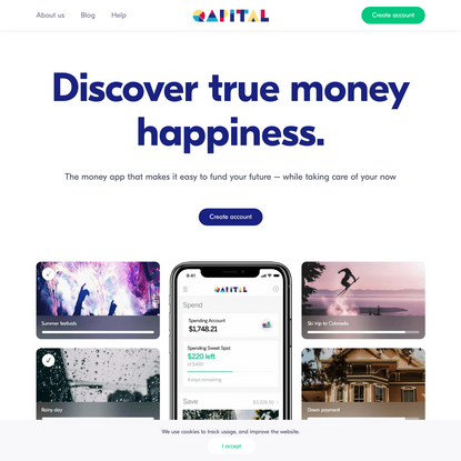 Qapital - Banking designed with your goals in mind.