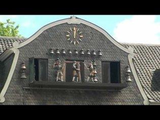 Goslar's Marktplatz Animated Clock Figures, 1080p HD