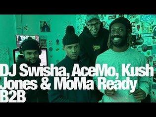 DJ SWISHA, AceMo, Kush Jones & MoMa Ready B2B @ The Lot Radio (November 12th 2019)