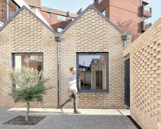 Houses with private courtyards in London (designed by Kennedy Twaddle)
