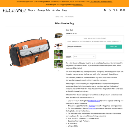 Mini-Rando Bag