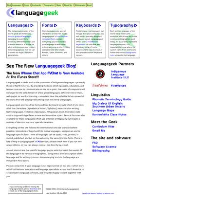 Languagegeek : Native Languages