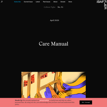 Care Manual   Colleen Tighe