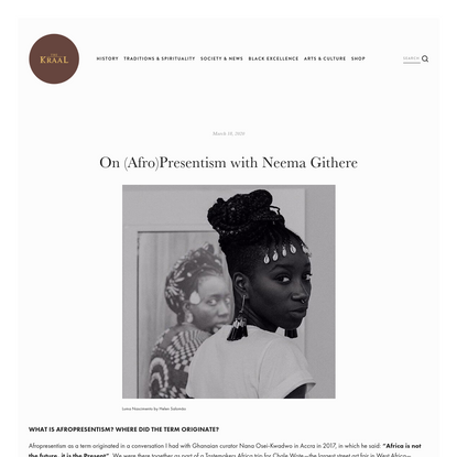 On (Afro)Presentism with Neema Githere - The Kraal