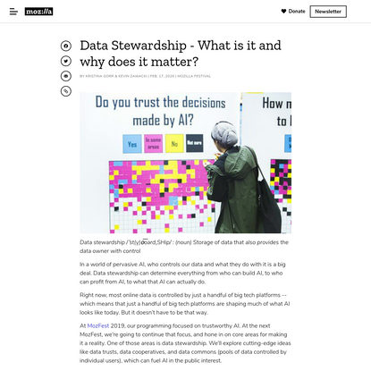 Data Stewardship - What is it and why does it matter?