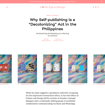 """Why Self-publishing is a """"Decolonizing"""" Act in the Philippines"""