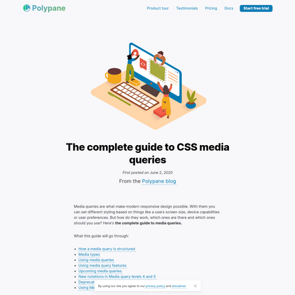The complete guide to CSS media queries | Polypane browser for developers