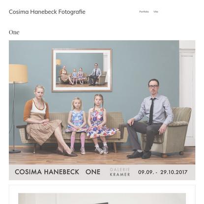 One - Cosima Hanebeck