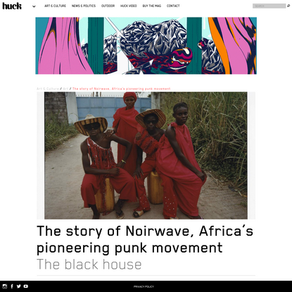 The story of Noirwave, Africa's pioneering punk movement