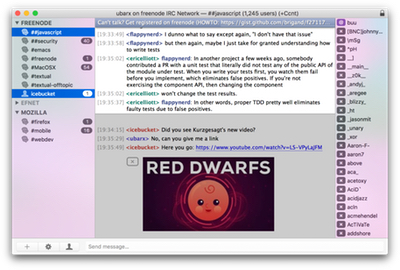 Textual: IRC for OS X