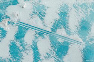 Antarctica (Google Earth View 13037)