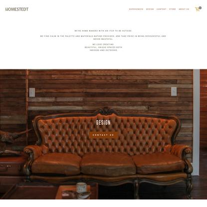 Design - homestedt